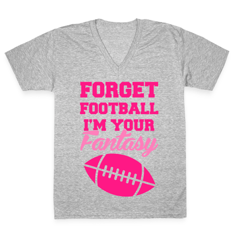 Fantasy Football V-Neck Tee Shirt