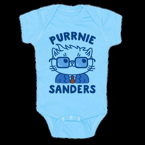 Purrnie Sanders Baby Onesy