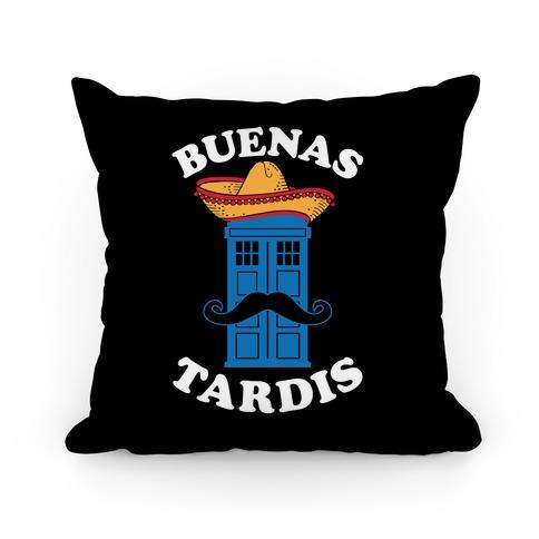 Buenas Tardis Pillow