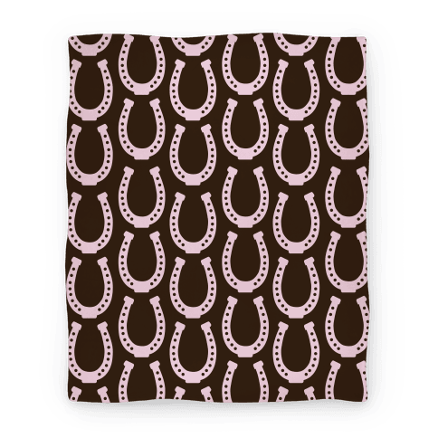 Horseshoe Pattern Blanket