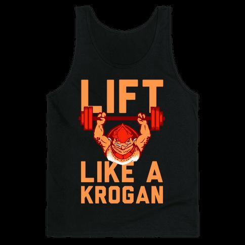 Lift Like a Krogan Tank Top
