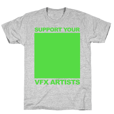 Support You VFX Artists Mens T-Shirt