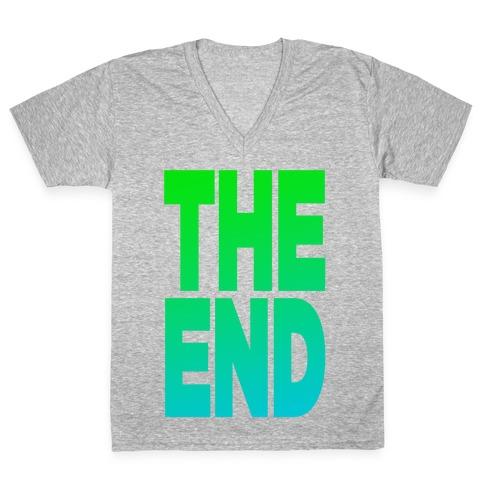 THE END V-Neck Tee Shirt