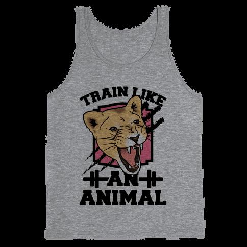 Train Like an Animal Tank Top