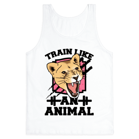 Train Like an Animal Tank Top