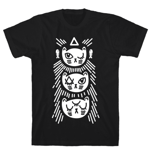 Occult Kitties Mens T-Shirt