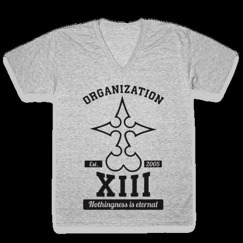 Team Organization XIII V-Neck Tee Shirt