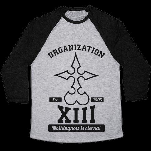 Team Organization XIII Baseball Tee