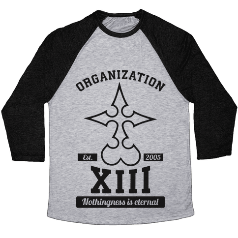 Team Organization XIII Baseball Tee