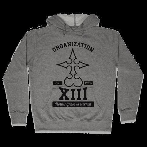 Team Organization XIII Hooded Sweatshirt