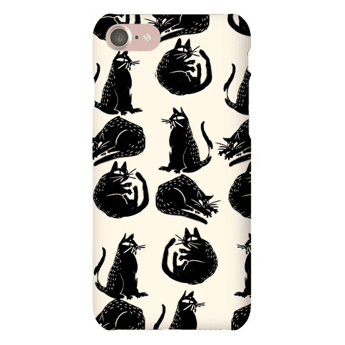 Cat Shapes Phone Case