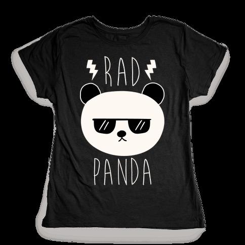 Rad Panda Womens T-Shirt