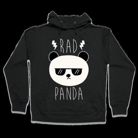 Rad Panda Hooded Sweatshirt