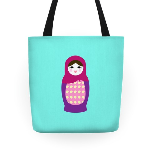 Cute Nesting Doll Tote