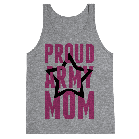 Proud Army Mom Tank Top