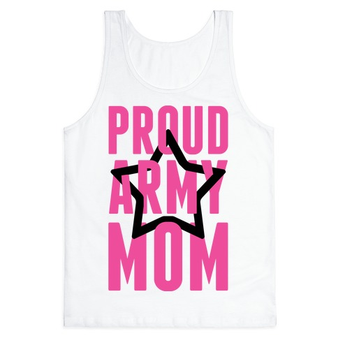 Proud Army Mom Tank Top