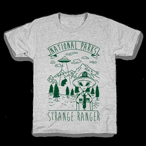 Strange Ranger Kids T-Shirt