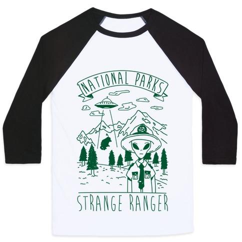 Strange Ranger Baseball Tee