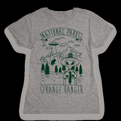 Strange Ranger Womens T-Shirt