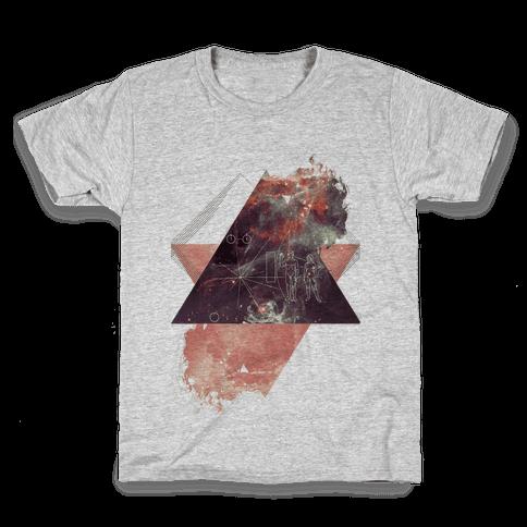 Pioneer Plaque Kids T-Shirt