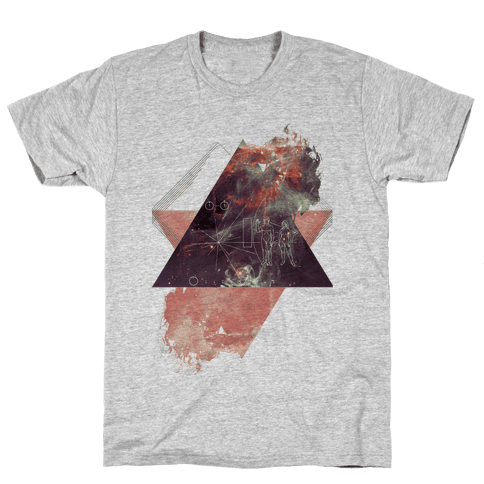 Pioneer Plaque Mens T-Shirt