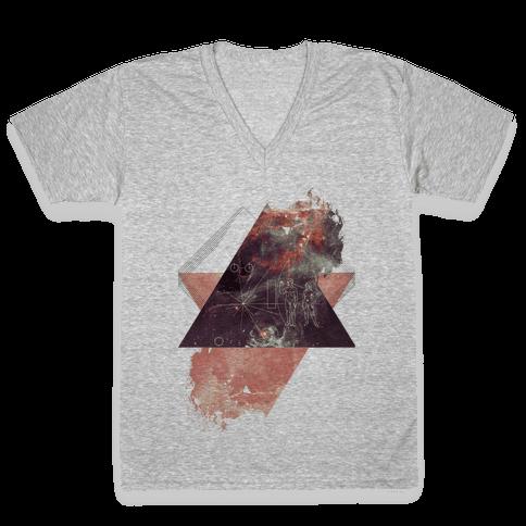 Pioneer Plaque V-Neck Tee Shirt