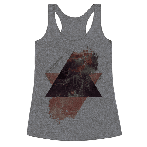 Pioneer Plaque Racerback Tank Top