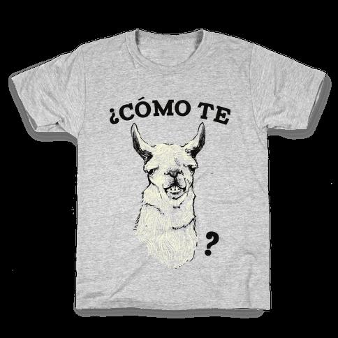 Como te llama Kids T-Shirt