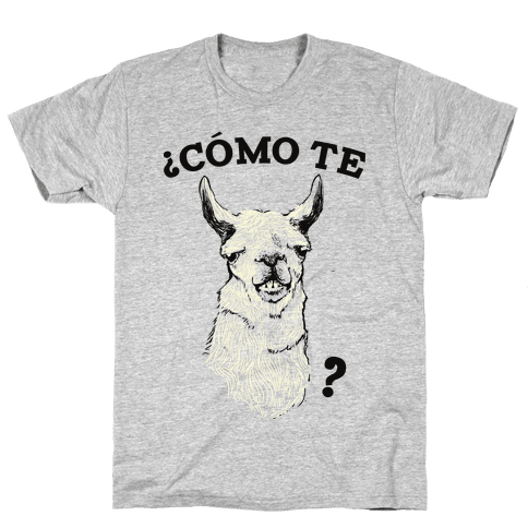Como te llama Mens T-Shirt