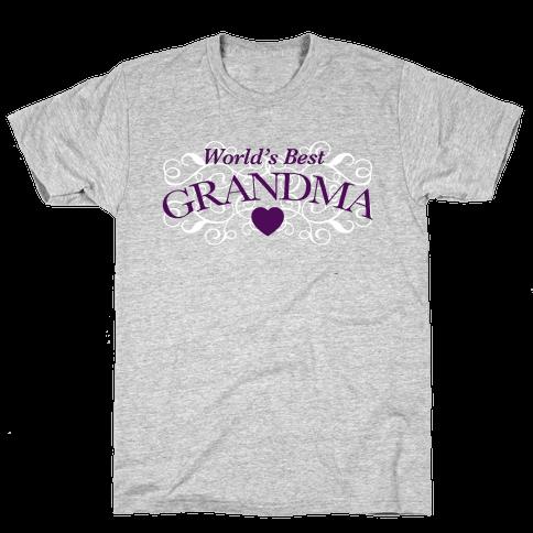 World's Best Grandma Mens T-Shirt