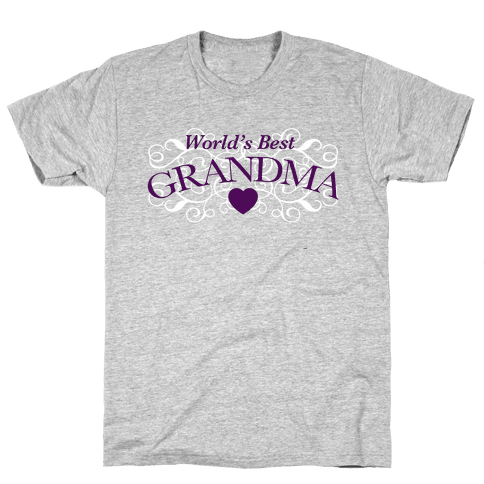 World's Best Grandma Mens T-Shirt