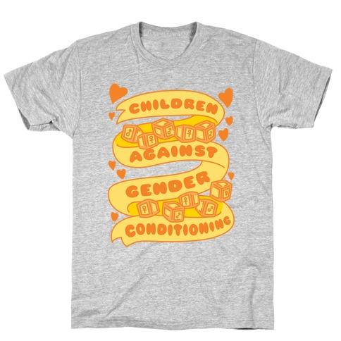 Children Against Gender Conditioning T-Shirt