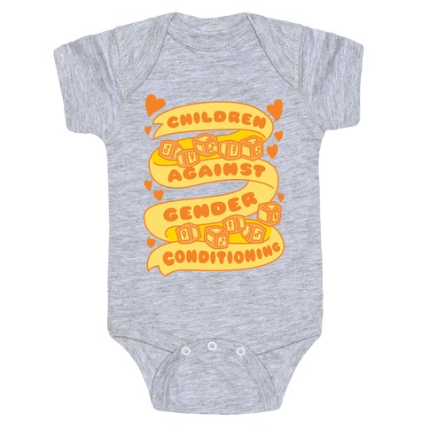 Children Against Gender Conditioning Baby Onesy