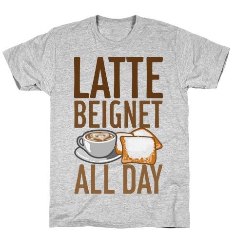 Latte Beignet All Day T-Shirt