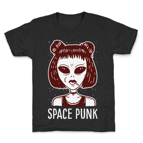 Space Punk Alien Kids T-Shirt