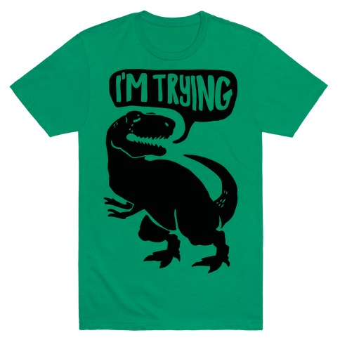 Hug Me Dinosaur (Part Two) Mens T-Shirt
