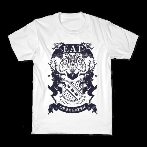 Eat Or Be Eaten Kids T-Shirt