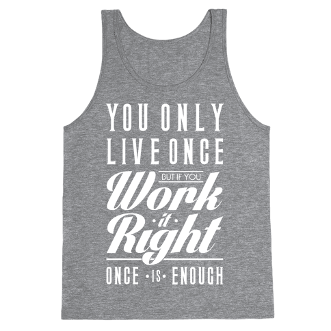Work It Right Tank Top