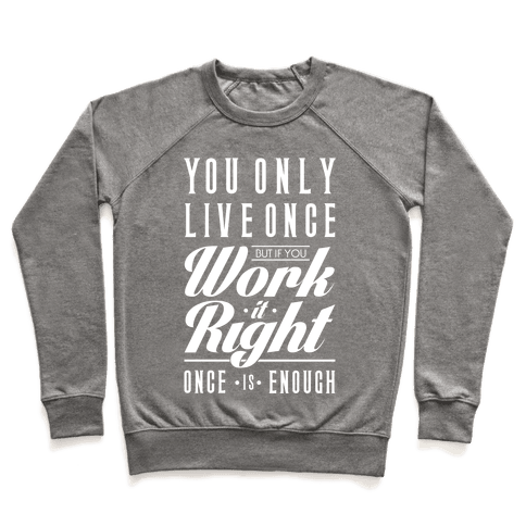 Work It Right Pullover