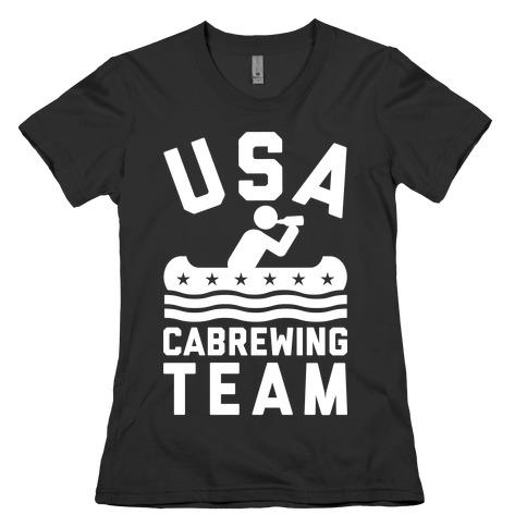 USA Cabrewing Team Womens T-Shirt