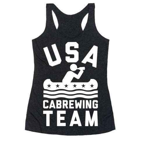 USA Cabrewing Team Racerback Tank Top