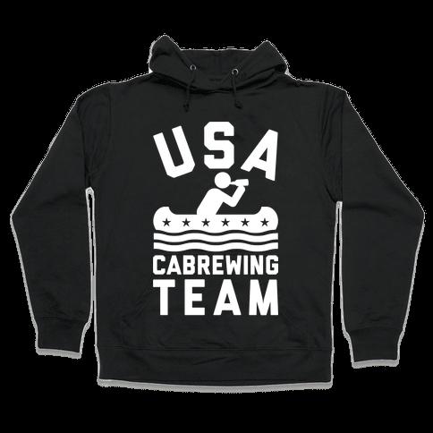 USA Cabrewing Team Hooded Sweatshirt
