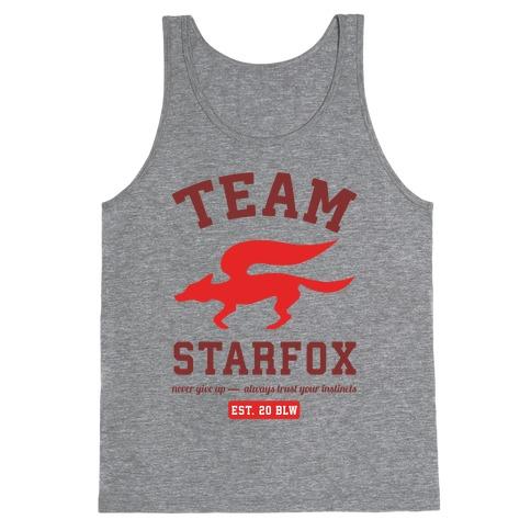 Team Starfox Tank Top