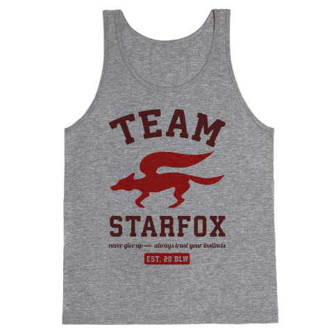 Team Starfox Tank Top