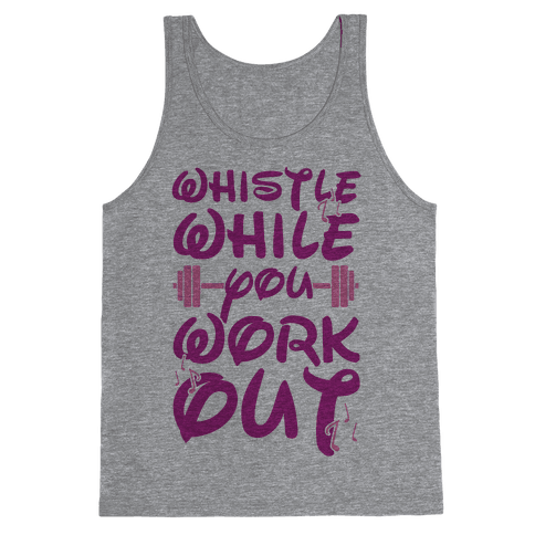Whistle While You Workout Tank Top
