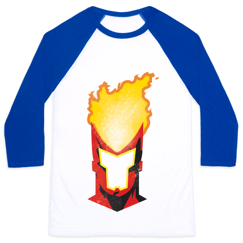 Hot Head Baseball Tee