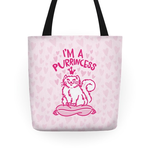 I'm A Purrincess Tote