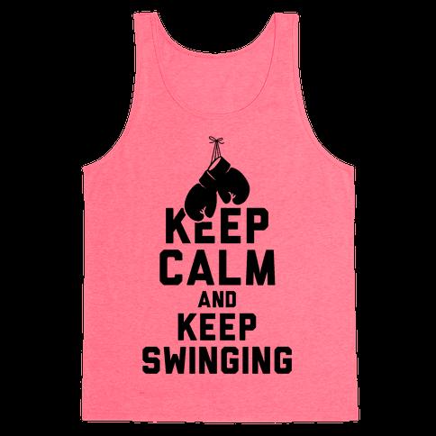 Keep Calm and Keep Swinging