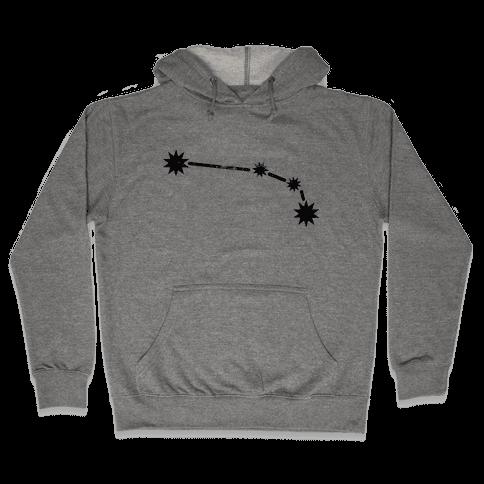 Aries (Tank) Hooded Sweatshirt