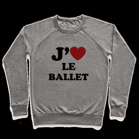 J'aime Le Ballet Pullover